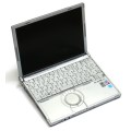 Panasonic Toughbook CF-W7 Core 2 Duo U7500 @ 1,06GHz 2GB 80GB DVD±RW französisch
