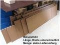 15x Wellpapp-Zuschnitte ca. 1,2-2m lang ca. 50cm breit BC-Welle 7mm Wellpappe