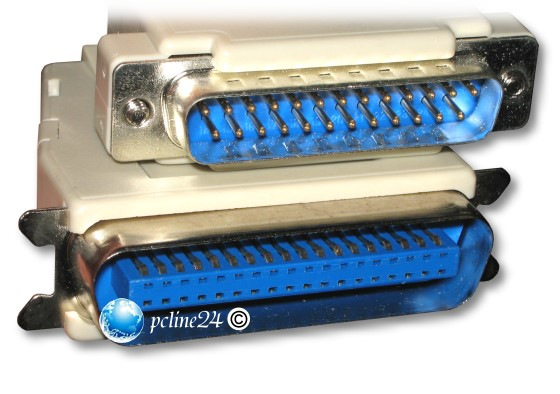 Parallel Druckerkabel Kabel IEEE 1284 Centronics 0,45m