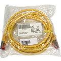 Patchkabel CAT6 RJ-45 2m gelb NEU/NEW Gigabit Ethernet