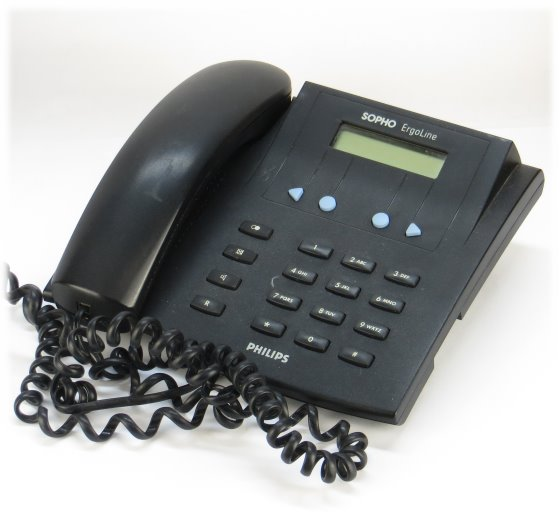 Philips ISDN-Sopho Ergoline E320-4w ISDN Telefon