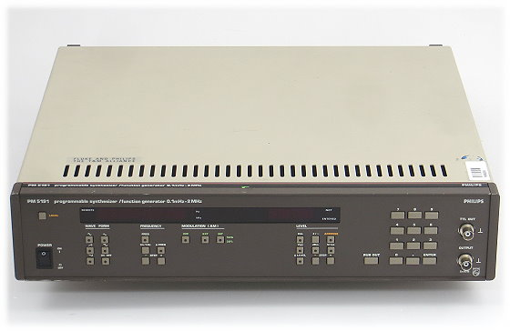 PHILIPS PM 5191 Funktionsgenerator 0,1mHz - 2MHz programmable Synthesizer