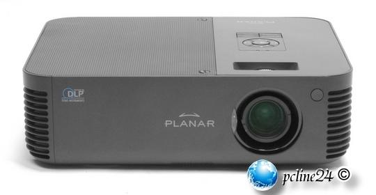 Planar PR5020 DLP Beamer Projektor 3000 ANSI/LU 2200:1  Lampe unter 50 Stunden