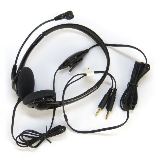 Plantronics Headset Audio 325 für IP-Telefonie Callcenter Skype etc. PLT-PL-76958-11