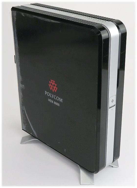 Polycom HDX 6000 HD PAL Video Konferenz System Basis Einheit 2201-28619-002
