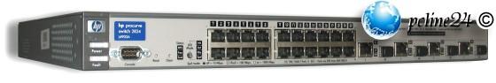 HP Procurve J4903A 2824 24 Port Managed Gigabit Switch