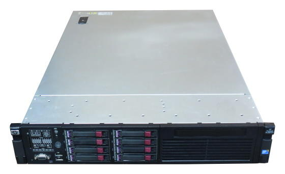 HP ProLiant DL380 G7 2x Xeon Quad Core E5630 @ 2,53GHz 72GB 8x146GB SAS P410i