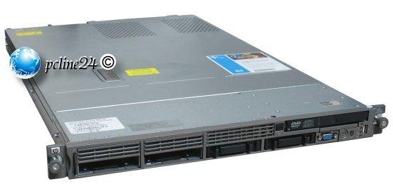 HP ProLiant DL360 G5 Xeon Quad Core E5335 @ 2GHz 8GB P400i / 256MB SAS ohne HDD