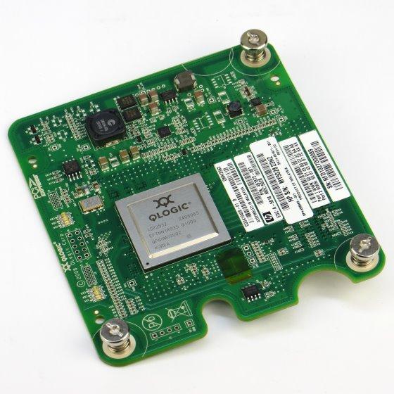 QLogic QMH2562 Dual Port 8Gb FC to PCIe Expansion Card Karte für HP BladeSystem c-Class Card