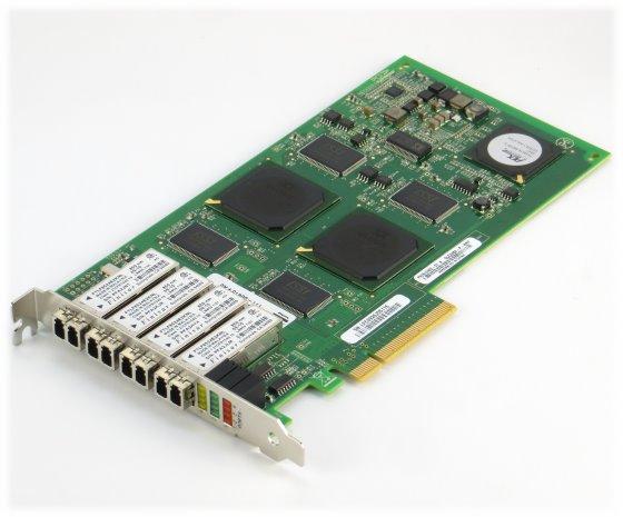 QLogic SANblade QLE2464 4 Gbit/s FC Quad Port PCIe x8 HBA PX2610402