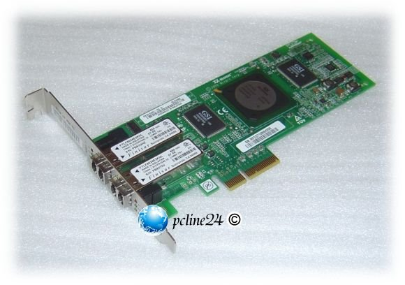 QLogic SANblade QLE2462 HBA 4GBit/s 2 port PCIe x4