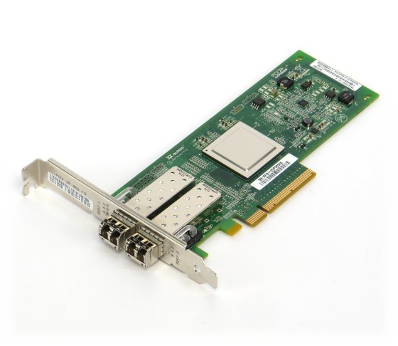 Qlogic QLE2562 8Gbps HBA Fibre Channel Adapter 2x SFP mini-GBIC FTLF8528P2BCV-QL
