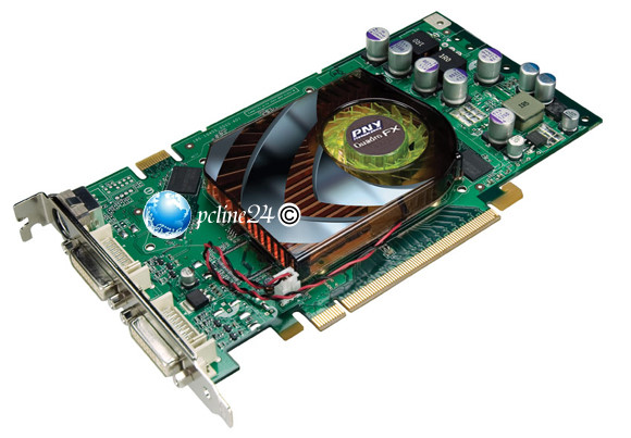 HP nVidia Quadro FX1500 256MB 2x DVI 1x S-Video/HDTV Grafikkarte