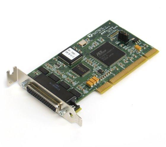 Quatech QSCLP-100 serielle PCI Schnittstellenkarte 4x RS-232 ohne Adapter-Kabel