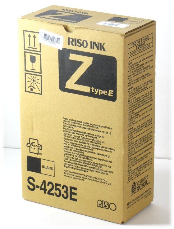RISO INK eZ type/E S-4253E original schwarz Tinten 2x Patronen