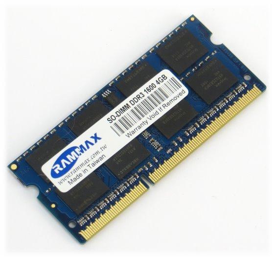 4GB PC3-12800 DDR3 1600MHz SO-DIMM Speicher 204pin für Laptop Notebook