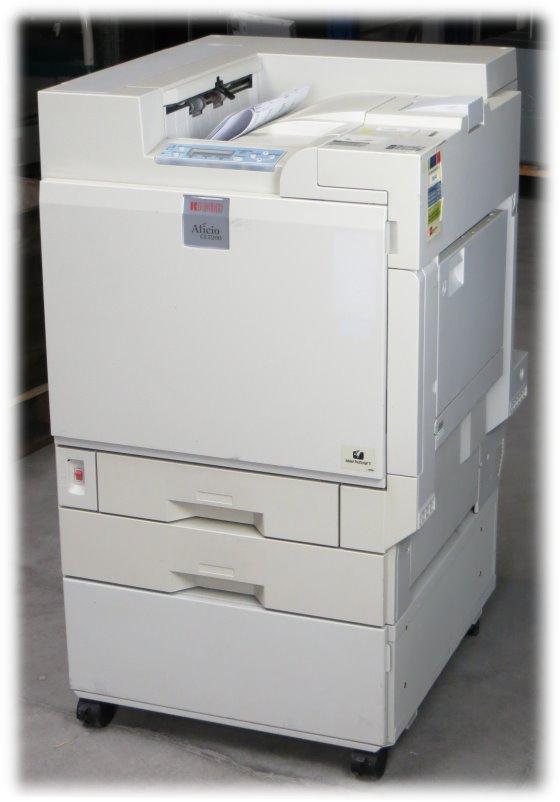 Ricoh Aficio CL7200 32 ppm 512MB NETZ 217.800 Seiten Farblaserdrucker B-Ware