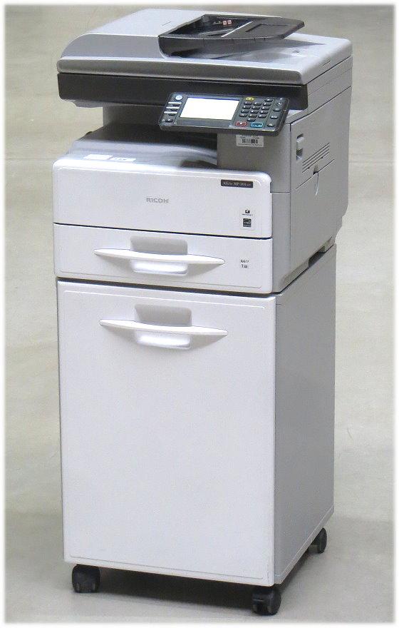 Ricoh Aficio MP301SPF All-in-One FAX Kopierer Scanner Laserdrucker 88.500 S. B-Ware