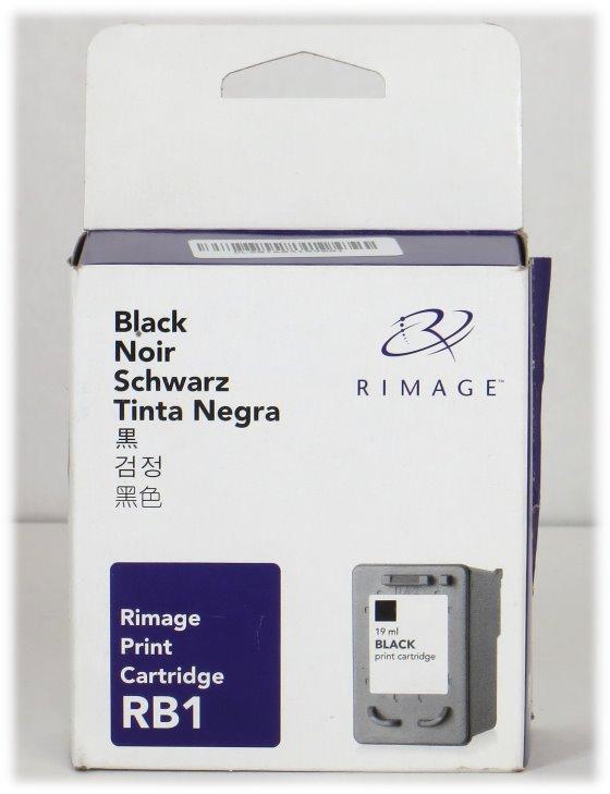 Rimage RB1 NEU/NEW original Schwarz Tintenpatrone
