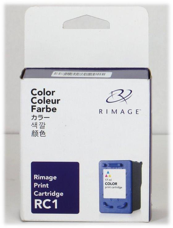Rimage RC1 original Cyan Magenta Gelb Tintenpatrone