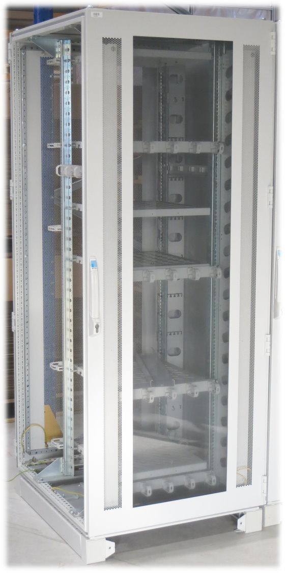 Rittal DK7830 300 Serverschrank 42HE mit Glastür mit 6x Zwischenböden
