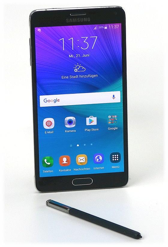"""Samsung Galaxy Note 4 3GB RAM 32GB Smartphone 5,7"""" Super AMOLED SM-N910F"""