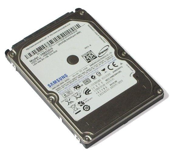 "2,5"" Samsung HM250HJ 250GB SATA II 3Gbps 7200rpm HDD Festplatte"