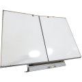SMART Klapptafel 2x 117cm x 81cm weiß Whiteboard Wandtafel