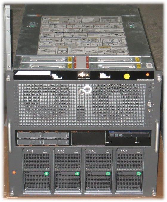 SUN Enterprise M5000 4x SPARC64 VII Quad Core 2,53GHz 256GB 4x 300GB