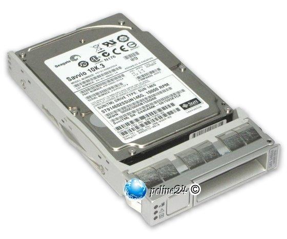 """SUN FRU 540-7868-01 146GB 10K SAS 6Gb/s ST9146803SS Marlin Tray für SunFire X4150 2,5"""""""