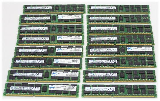 Samsung 256GB (16x 16GB) PC3-14900R DDR3 M393B2G70QH0-CMA ECC registered