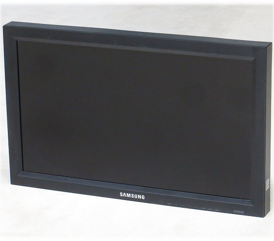 "32"" TFT LCD Samsung 320MX-2 1366x768 Monitor mit Lautsprecher VGA DVI HDMI Composite"