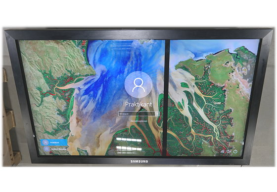 "65"" Samsung 650TS Touchscreen FullHD 1920x1080 HDMI DVI VGA C-Ware"
