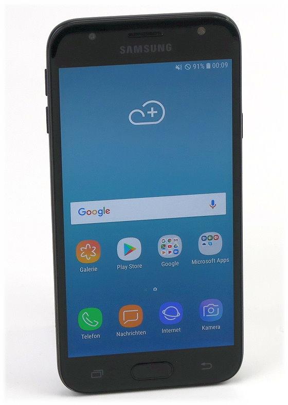 """SAMSUNG Galaxy J3 (2017) 16GB black-onyx 5"""" AMOLED SM-J330F ohne SIMlock"""