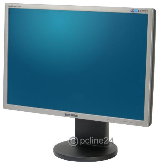 "22"" TFT LCD SAMSUNG SyncMaster 2243EW Pivot 1680 x 1050 Monitor"
