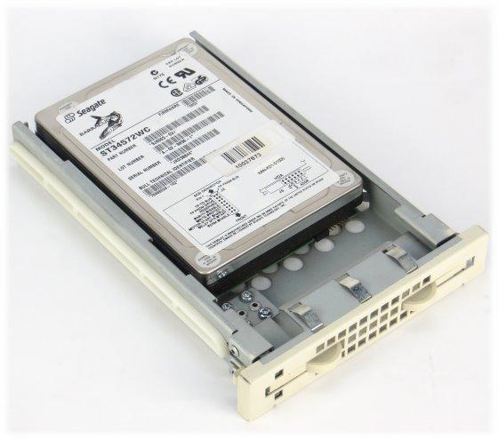 Seagate Barracuda ST34572WC 4,5 GB SCSI SCA 80pin HDD Festplatte Rarität