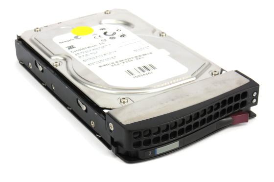 Western Digital RE4 WD2503ABYX 250GB 3Gb/s SATA II 7.200rpm im SuperMicro Tray