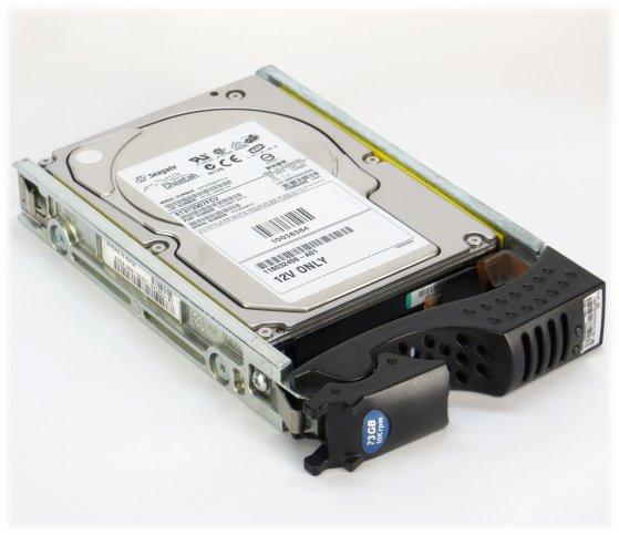Seagate ST373307FCV 72GB 10K FC 40pin HDD Festplatte im Tray EMC² Clariion