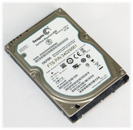 "2,5"" Seagate ST9160412AS 160GB SATA 7.200rpm Festplatte"