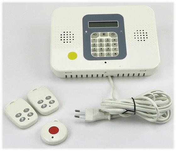 SecuSelf Control Panel GPRS/PSTN Funk-Alarmzentrale mit 2x EL-2614E 1x EL-2711M