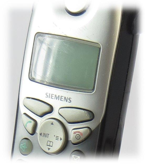 Siemens Gigaset 4000 Comfort Telefon schnurlos Handteil + Ladeschale + NT B-Ware