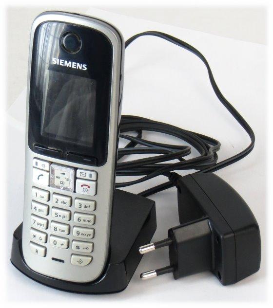 Siemens Gigaset S3 Professional Mobilteil + Ladeschale + NT B-Ware