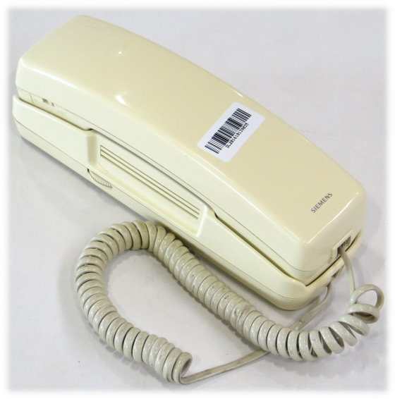 Siemens Miniset 280 Telefon analog Vintage 80er B-Ware vergilbt