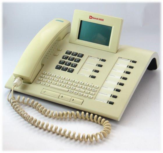 Siemens Optiset E Memory Systemtelefon B-Ware für TK-Anlage Hipath Hicom