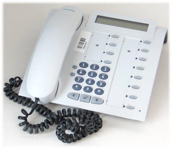 Siemens optiPoint 410 Standard Telefon Arctic weiß für TK-Anlage