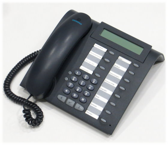 Siemens optiPoint 500 Basic mangan Systemtelefon HiPath Hicom