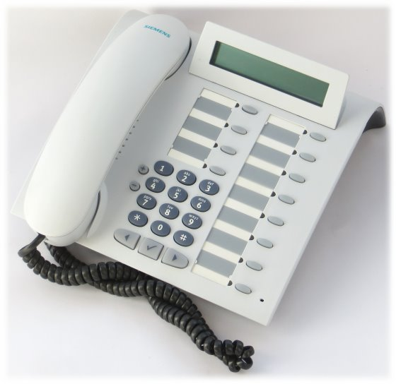 Siemens optiPoint 500 standard arctic Systemtelefon Hicom HiPath