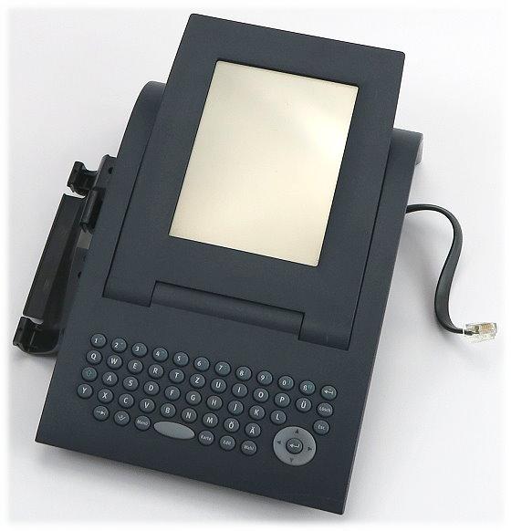 Siemens optiPoint Application Modul S30817-S7214-A107-9 mit Tastatur