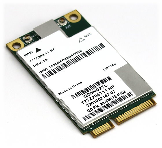 Sierra T77Z204.11 HF mini-PCI Express Karte 3G UMTS WWAN Sierra MC8305