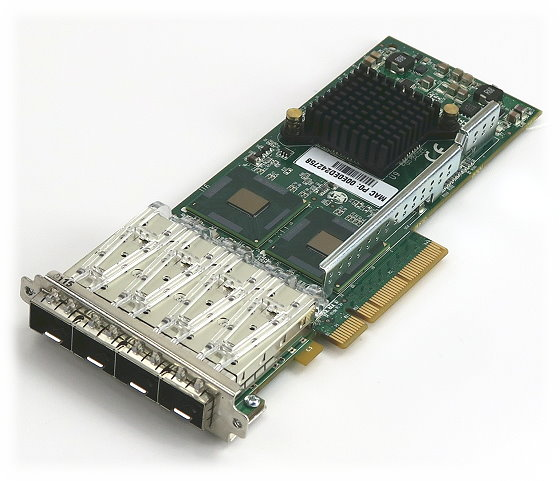Silicom PE2G4SFPI6L-R Quad Port SFP Gigabit Ethernet PCIe 2.0 x8